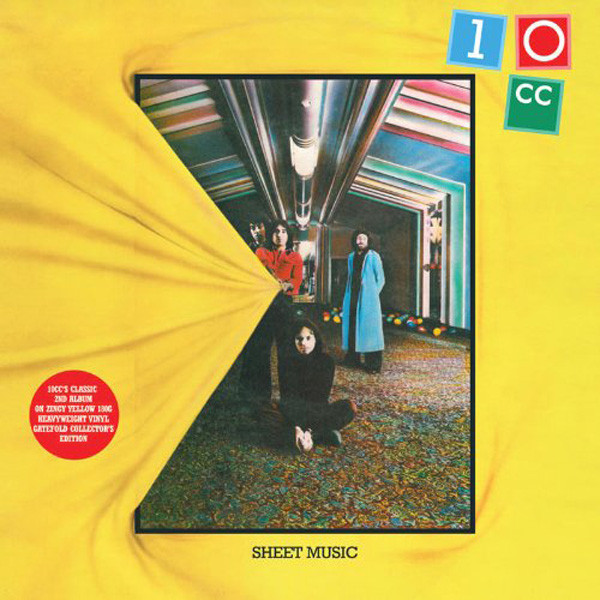 10CC 10CC - SHEET MUSIC (180 GR)