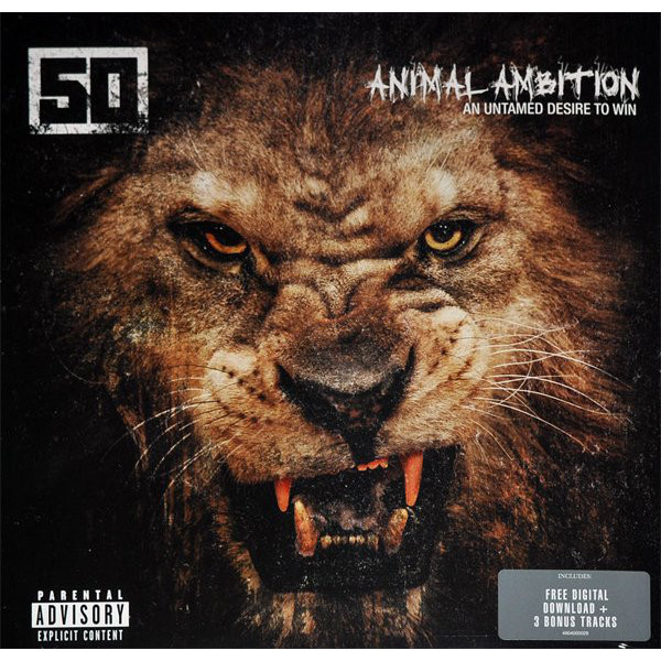 50 Cent 50 Cent - Animal Ambition: An Untamed Desire To Win (2 LP)
