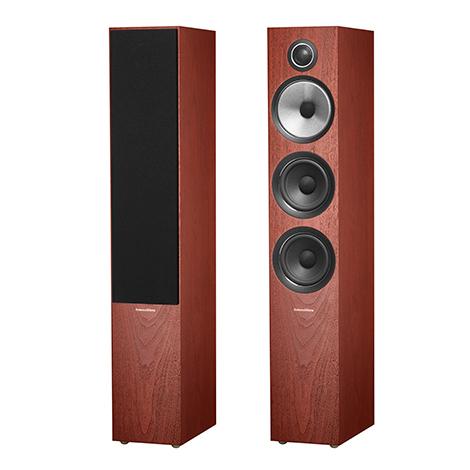 Напольная акустика B&W 704 S2 Rosenut акустика центрального канала paradigm studio cc 590 v 5 rosenut