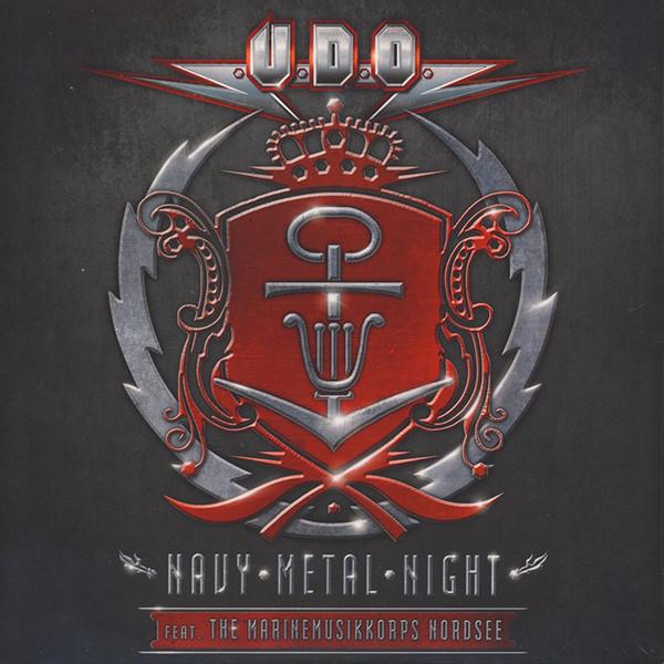 U.d.o. U.d.o. - Navy Metal Night (2 Lp, Red)