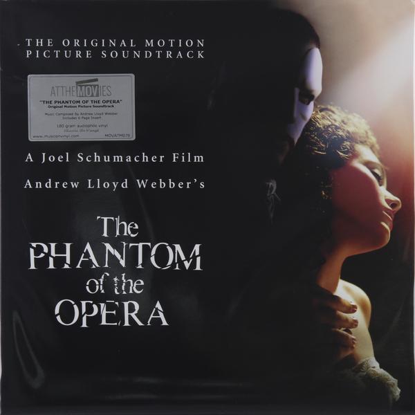 САУНДТРЕК САУНДТРЕК - PHANTOM OF THE OPERA (2 LP, 180 GR) пижама phantom of the romantic 2015