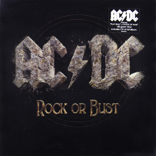 AC/DC AC/DC - Rock Or Bust (lp+cd, 3d Cover) vildhjarta vildhjarta masstaden lp cd