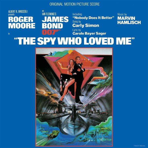 Саундтрек Саундтрек - The Spy Who Loved Me the librarian and the spy