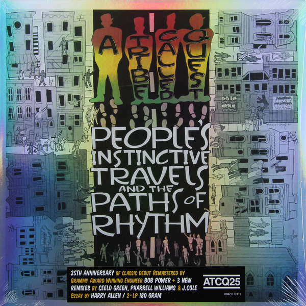 A Tribe Called Quest A Tribe Called Quest - Peoples Instinctive Travels And The Paths Of Rhythm (25th Anniversary Edition, 2 LP)