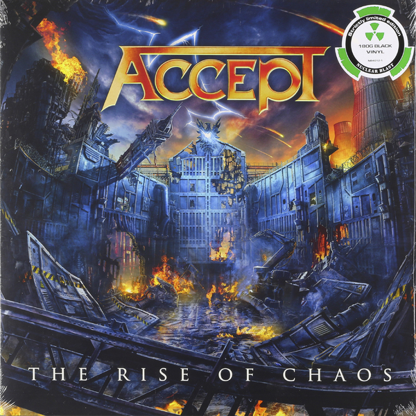 Accept Accept - Rise Of Chaos (2 Lp, 180 Gr) guano apes guano apes proud like a god 180 gr colour