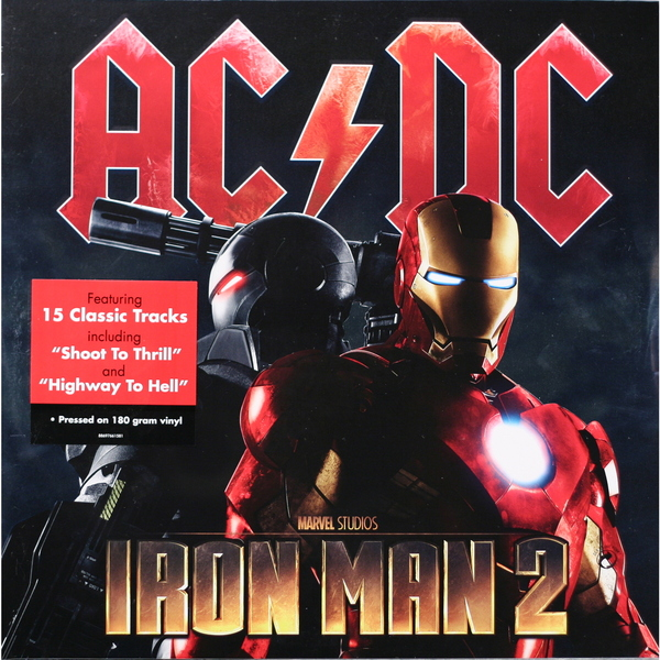 AC/DC AC/DC - Iron Man 2 (2 Lp, 180 Gr) guano apes guano apes proud like a god 180 gr colour