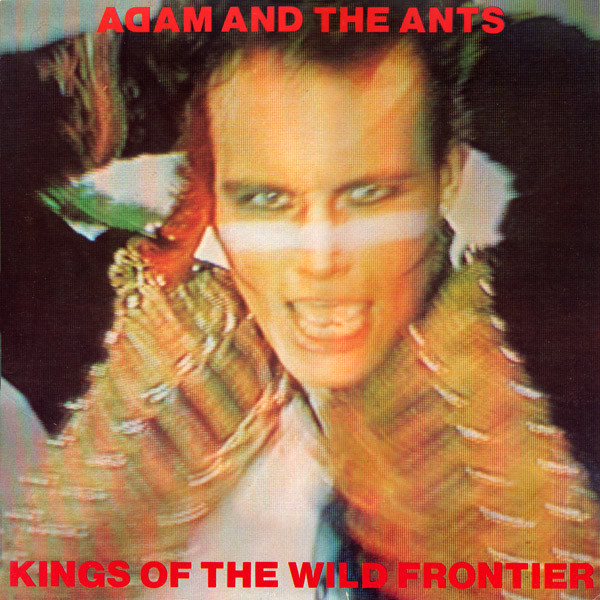 ADAM   THE ANTS ADAM   THE ANTS - KINGS OF THE WILD FRONTIER (35TH ANNIVERSARY) colorful letters decorative super soft household pillow case