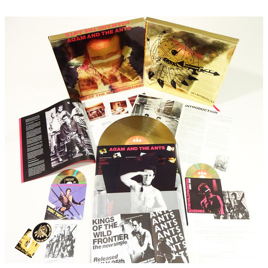 Adam   The Ants Adam   The Ants - Kings Of The Wild Frontier (35th Anniversary) (lp+2cd+dvd) live giant lighted ecosystem ant habitat shipped with 25 live ants now 1 tube of ants