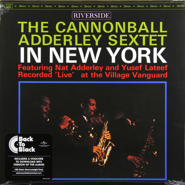 ADDERLEY CANNONBALL ADDERLEY CANNONBALL - IN NEW YORKВиниловая пластинка<br><br>