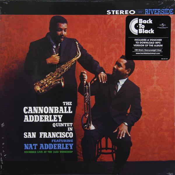 ADDERLEY CANNONBALL ADDERLEY CANNONBALL - IN SAN FRANCISCO (180 GR)Виниловая пластинка<br><br>