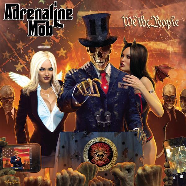 Adrenaline Mob Adrenaline Mob - We The People (2 Lp+cd) partners lp cd