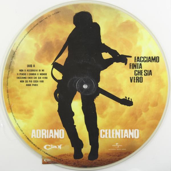 ADRIANO CELENTANO ADRIANO CELENTANO - FACCIAMO FINTA CHE SIA VERO (PICTURE DISC)