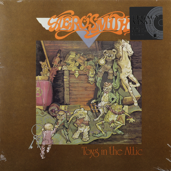 Aerosmith Aerosmith - Toys In The Attic aerosmith devil s got a new disguise – the very best of aerosmith cd