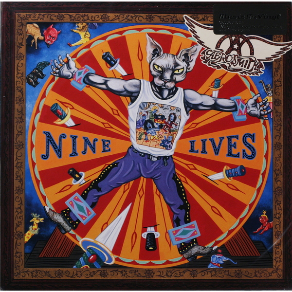 Aerosmith Aerosmith - Nine Lives (2 Lp, 180 Gr) aerosmith aerosmith done with mirrors 180 gr
