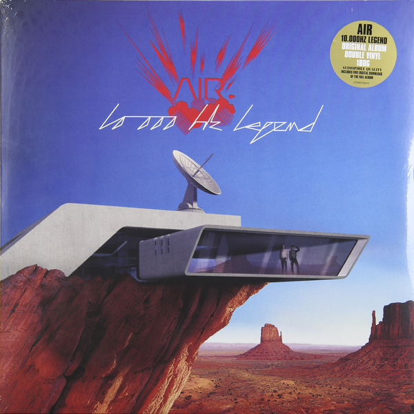 AIR AIR - 10.000 HZ LEGEND (2 LP, 180 GR)��������� ���������<br><br>