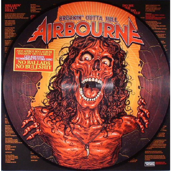 Airbourne Airbourne - Breakin' Outta Hell (picture) планшет samsung galaxy tab a 7 0 8gb lte silver sm t285