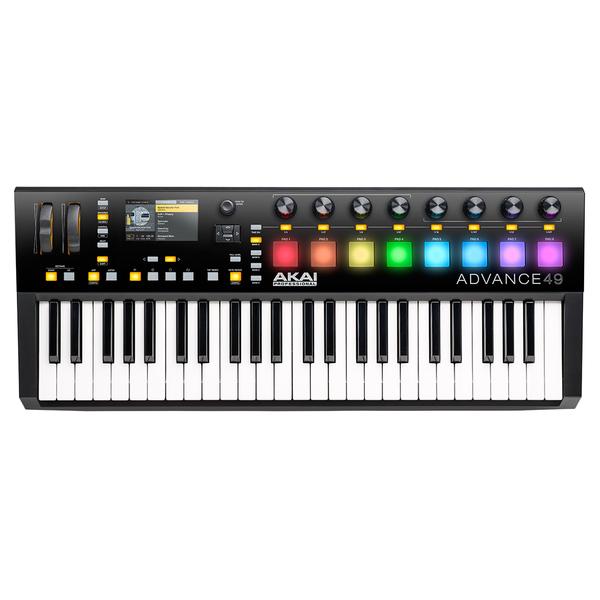 MIDI-клавиатура AKAI Professional Advance 49 изображение