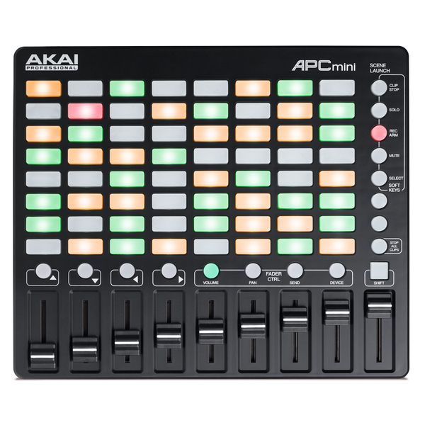 MIDI-контроллер AKAI Professional APC mini изображение