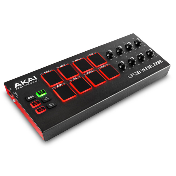 MIDI-контроллер AKAI Professional LPD8 Wireless midi контроллер akai professional mpc touch