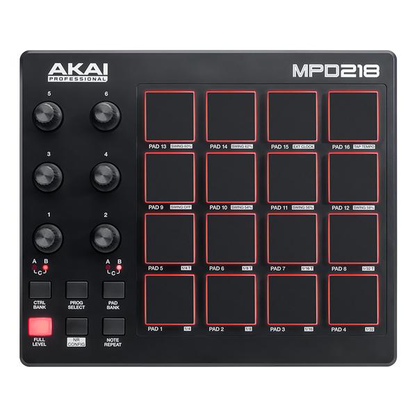 MIDI-контроллер AKAI Professional MPD218 изображение