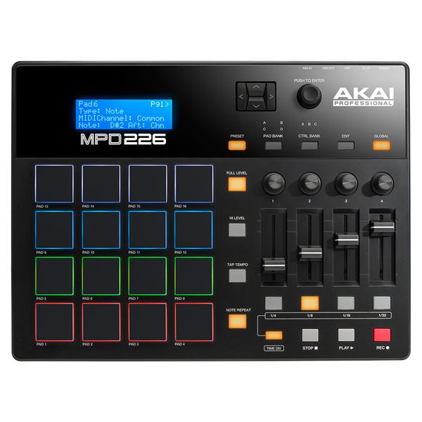 MIDI-контроллер AKAI Professional MPD226 akai pro mpc fly usb midi
