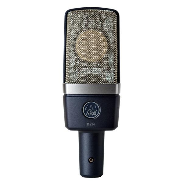 Студийный микрофон AKG C214 динамический микрофон akg d7