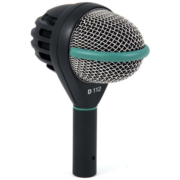 Инструментальный микрофон AKG D112 микрофон для духовых инструментов akg c519m