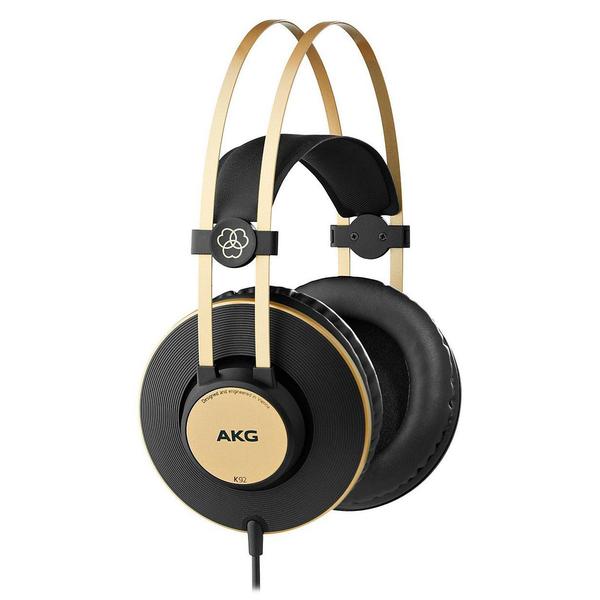 все цены на Охватывающие наушники AKG K92 Black/Gold онлайн