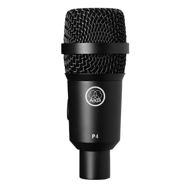 Инструментальный микрофон AKG P4 приёмник и передатчик для радиосистемы akg dsr700 v2 bd1