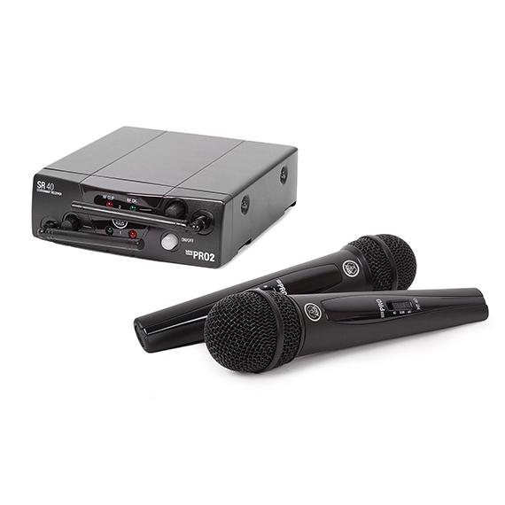 Радиосистема AKGРадиосистема<br>Вокальная радиосистема с 2-мя ручными передатчиками и капсюлем D88<br>
