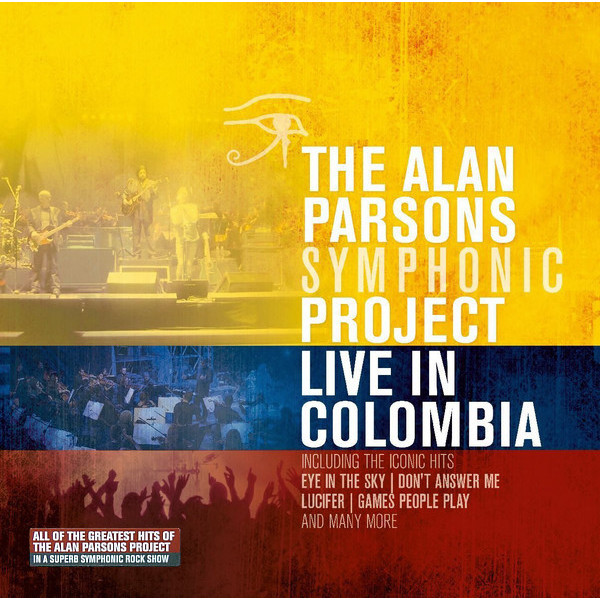 Alan Parsons Project Alan Parsons Project - Live In Colombia (3 LP) 2015 10