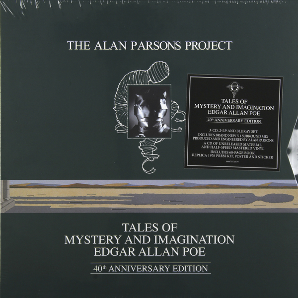 Alan Parsons Project Alan Parsons Project - Tales Of Mystery And Imagination (2 Lp + 3 Cd + Br-a) ghost stories of edith wharton tales of mystery
