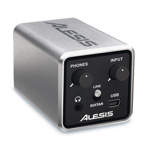 Мобильный аудиоинтерфейс Alesis