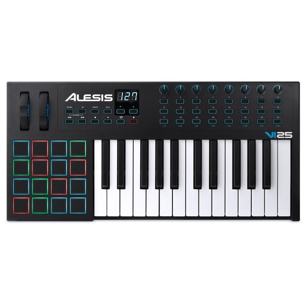 MIDI-клавиатура Alesis VI25 midi клавиатура 49 клавиш alesis q49