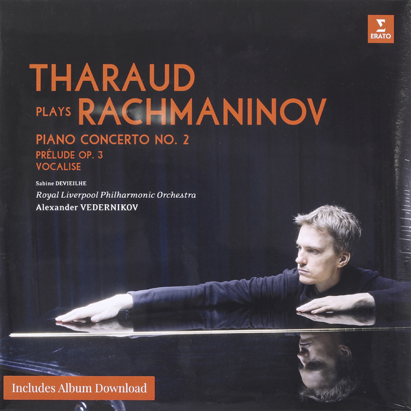 RACHMANINOV ALEXANDRE THARAUD   ROYAL LIVERPOOL PHILARMONIC ORCHESTRA - THARAUD PLAYS RACHMANINOV cd диск coldplay tribute the royal philarmonic orchestra plays the music of coldplay 1 cd