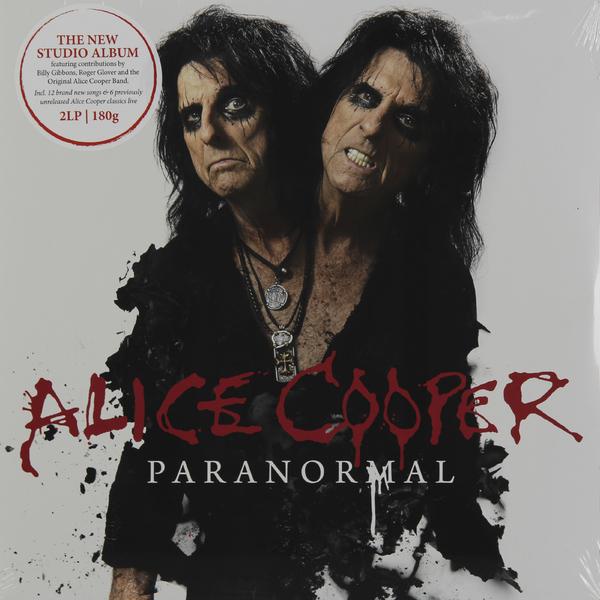 цена на ALICE COOPER ALICE COOPER - PARANORMAL (2 LP, 180 GR)