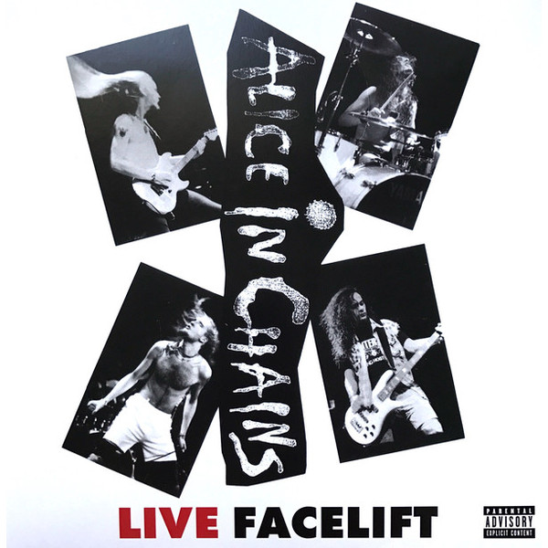 ALICE IN CHAINS ALICE IN CHAINS - LIVE - FACELIFT