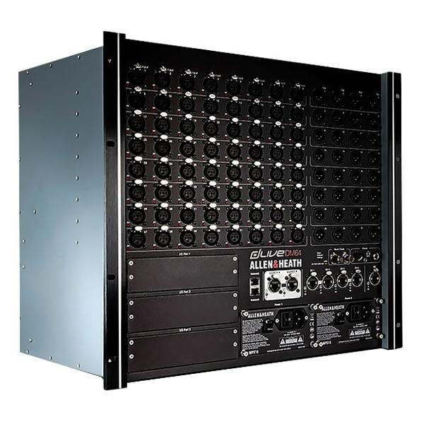 Цифровой микшерный пульт Allen & Heath Цифровой микшерный модуль  DLIVE-DM64 микшерный пульт pioneer xdj 1000mk2