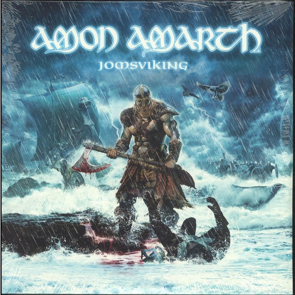 AMON AMARTH AMON AMARTH - JOMSVIKING (2 LP + CD) купить