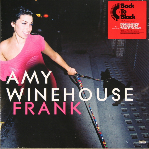 AMY WINEHOUSE AMY WINEHOUSE - FRANK (180 GR) amy winehouse lioness – hidden treasures cd