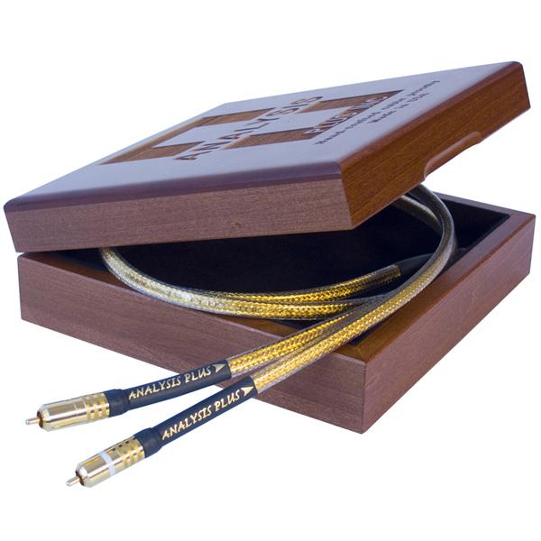 Кабель межблочный аналоговый RCA Analysis-Plus Golden Oval 0.5 m financial performance analysis