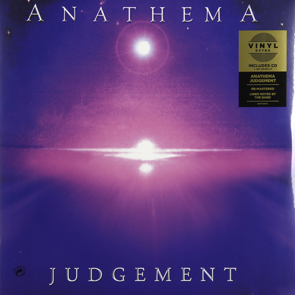ANATHEMA ANATHEMA - JUDGEMENT (LP 180 GR + CD) beibehang wallpaper vertical stripes 3d children s room boy bedroom mediterranean style living room wallpaper