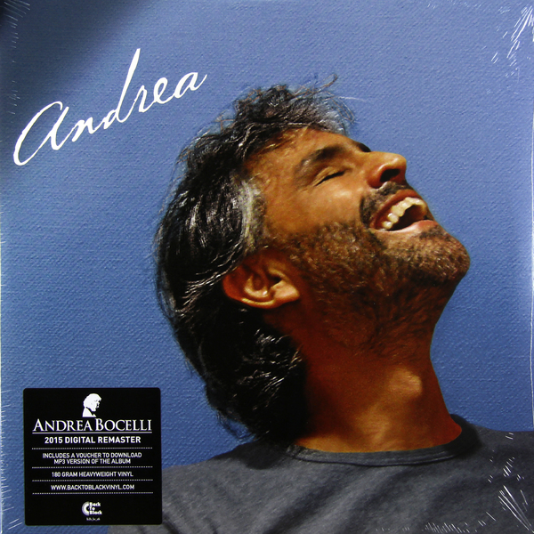 Andrea Bocelli Andrea Bocelli - Andrea (2 Lp, 180 Gr) guano apes guano apes proud like a god 180 gr colour