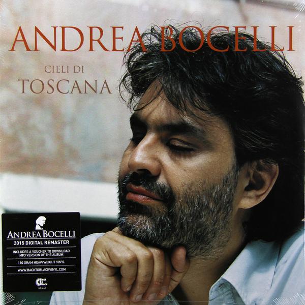 Andrea Bocelli Andrea Bocelli - Cieli Di Toscana (2 Lp, 180 Gr) andrea bocelli framed 24kt gold record display