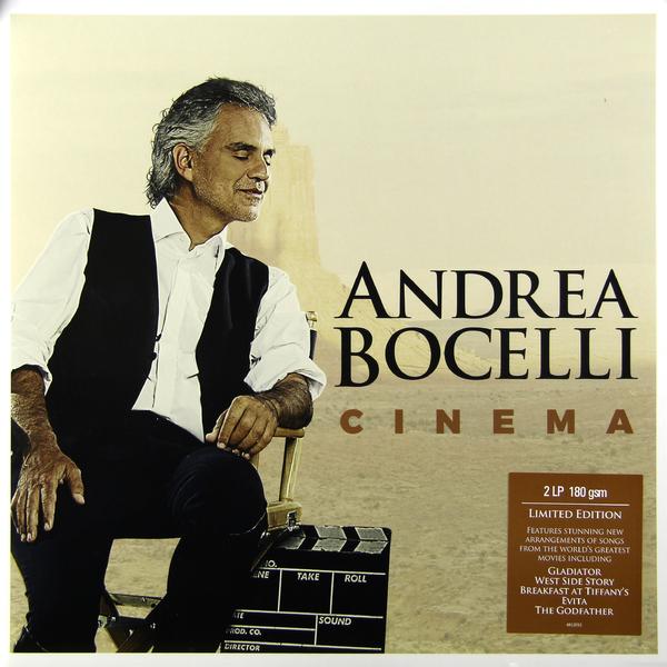 Andrea Bocelli Andrea Bocelli - Cinema (2 Lp, 180 Gr) andrea bocelli framed 24kt gold record display