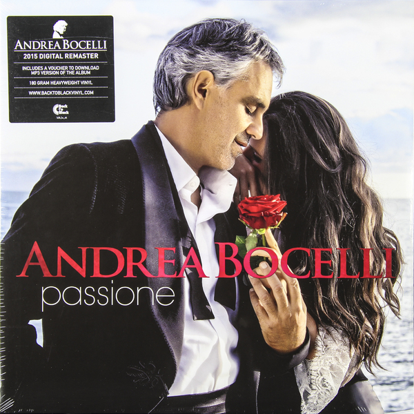 Andrea Bocelli Andrea Bocelli - Passione (2 Lp, 180 Gr) andrea bocelli framed 24kt gold record display