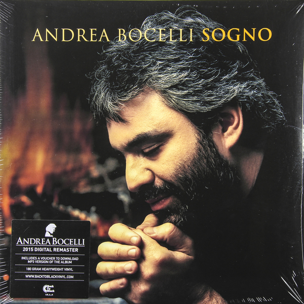 ANDREA BOCELLI ANDREA BOCELLI - SOGNO (2 LP, 180 GR) andrea bocelli andrea bocelli my christmas 2 lp 180 gr
