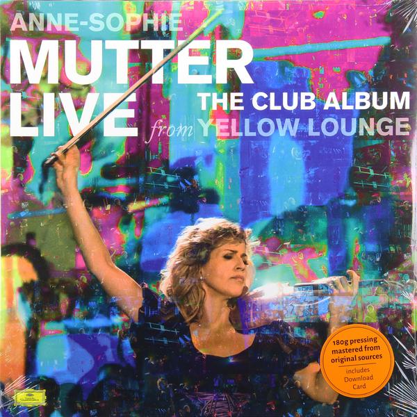 ANNE-SOPHIE MUTTER ANNE-SOPHIE MUTTER - THE CLUB ALBUM (2 LP, 180 GR)Виниловая пластинка<br><br>
