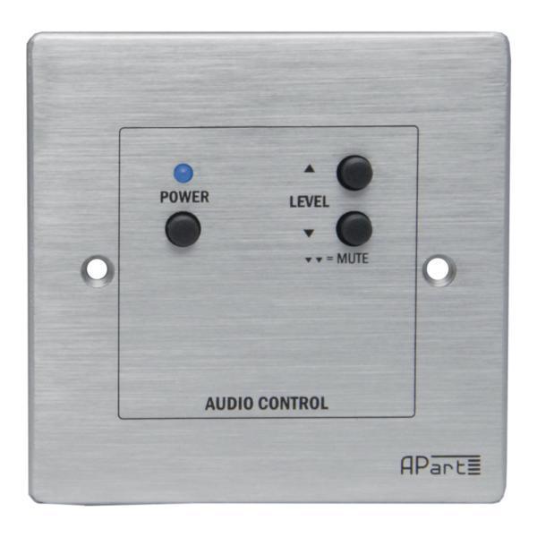Панель управления APartПанель управления<br>Врезная проводная панель удаленного управления для APart SDQ5PIR. Включение-выключение, громкость, выключение звука.<br>