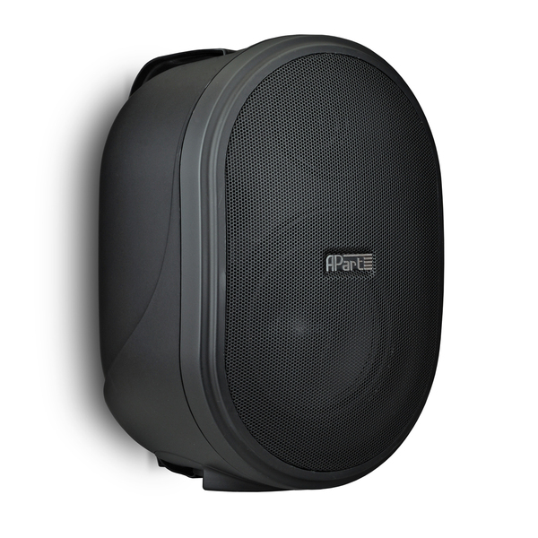 Настенный громкоговоритель APartНастенный громкоговоритель<br>Настенный громкоговоритель, предназначенный для озвучивания небольших и средних помещений (офисы, кафе, магазины и др). Динамики: 1  ВЧ и 5,25  СЧ/НЧ, 6 Ом / 100 В, частотный диапазон: 70 Гц - 20 кГц, чувствительность: 90 дБ.<br>